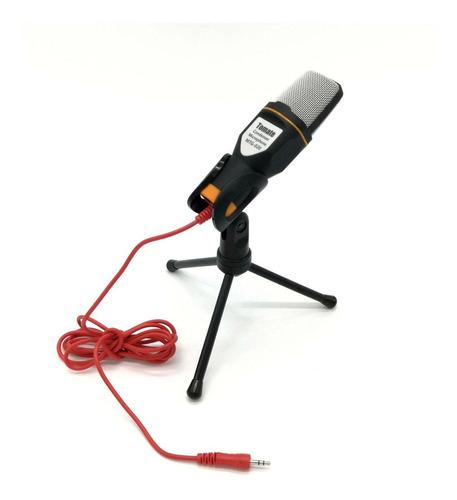 Microfone sem fio Tomate MTG-020 preto