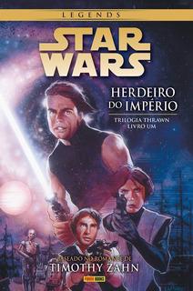 Hq Star Wars Legends. Herdeiro Do Império Triologia Thrawn 1
