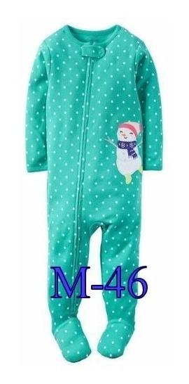 Macacão Pijama Fleece Ou Algodão. Carters Original Eua,