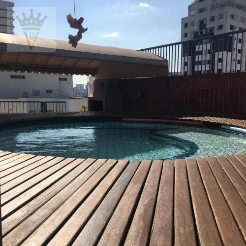 Cobertura Com 5 Dormitórios À Venda, 303 M² Por R$ 1.800.000,00 - Brooklin Paulista - São Paulo/sp - Co0038