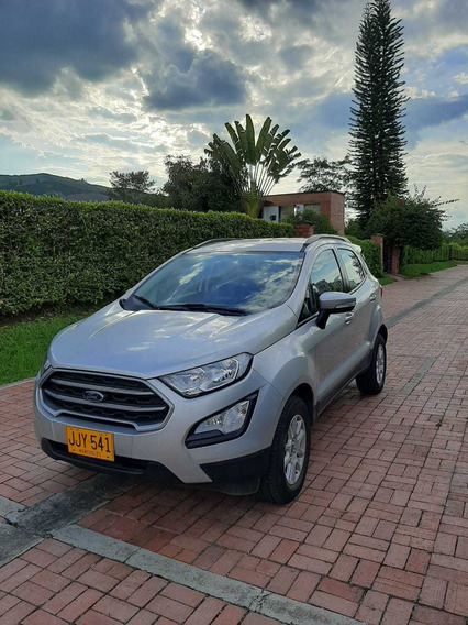 Ford Ecosporte 2018 Se Automatica 5 Puertas Plata