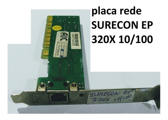 Placa Rede Surecon Ep 320x 10/100 Pci
