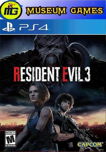 Resident Evil 3 Ps4 Español Fisico Nuevo Sellado - Local