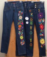 Bordado De Jeans Personalizados