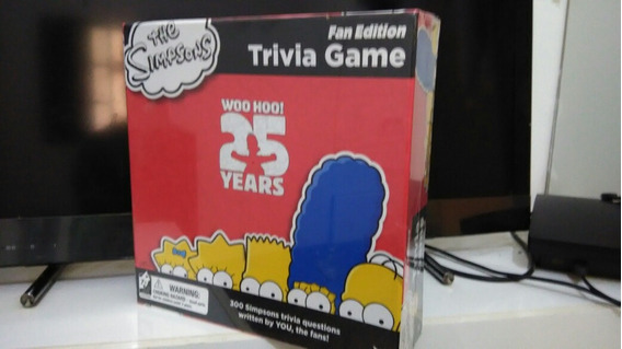 Simpsons - Trivia Board Game Em Inglês