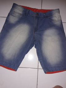 Bermuda Jeans Masculina Roupa Moda Promoção Short Casual