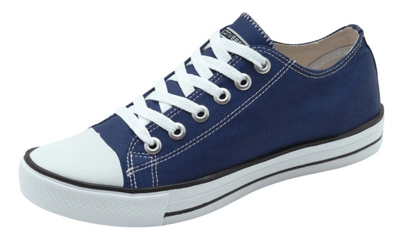 Tenis All Star Converse Material Lona 34 Ao 43