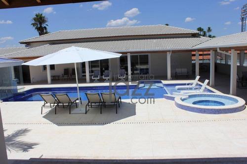 Maravilhosa Chácara De 3.000m2 Com 4 Suites À Venda Por R$ 3.180.000 - Vale Das Laranjeiras - Indaiatuba/sp - Ch0241