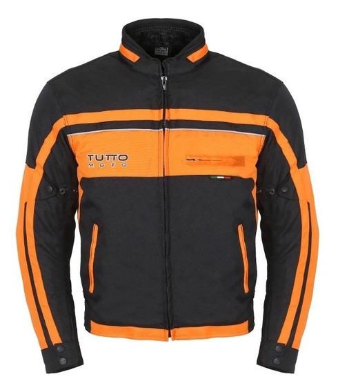 Jaqueta Tutto Fyber (laranja) - Tutto Moto®