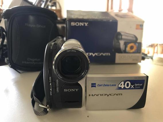 Filmadora Sony Handycam Dcr-dvd 108 Completa Leia Tudo