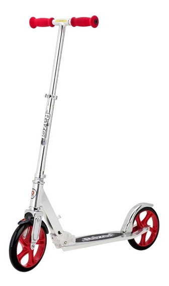 Razor Monopatin A5 Lux Scooter Silv/red 6 Pagos T. Oficial