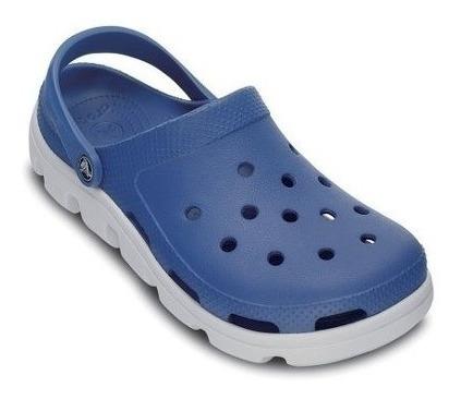 Crocs Duet Sport Clog Sea Azul Oyster