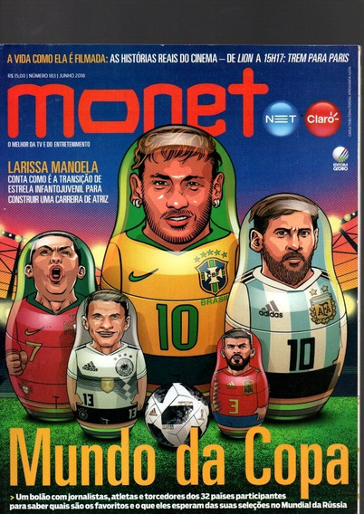 Revista Monet Mundo Da Copa Nº 183 Jun 2018 (7969)