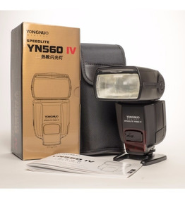 Flash Yongnuo Speedlite Yn 560 Iv P/ Canon Nikon P Entrega