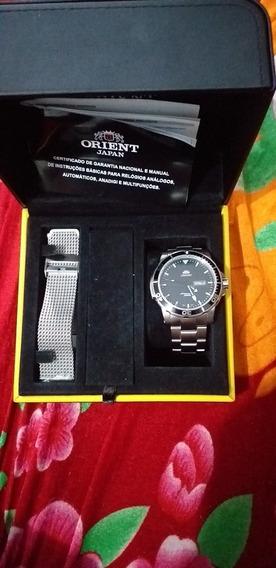 Relógio Orient Automático Novo Zero Na Caixa 469ss053 P1sx