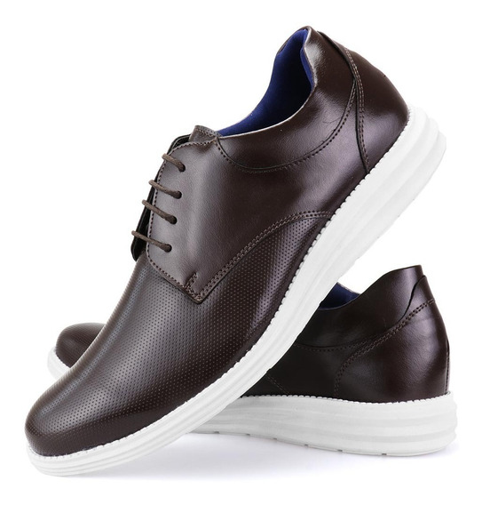 Sapato Masculino Sport Fino Oxford Confortável Casual Dhl