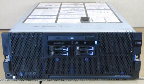 Servidor Ibm X3850 M2 4 Xeon Quadcore 64gb Ram 2 Hds 146gb