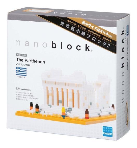 Nanoblock Partenon Grecia Rompecabezas 3d Tienda Oficial