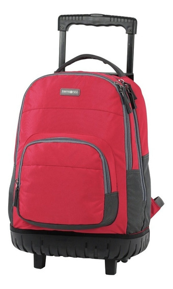 Mochila Samsonite Java Con Carro Escolar Base Reforzada