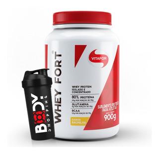 Whey Fort 900g - Vitafor + Shaker