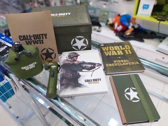 Call Of Duty Wwii: Valor Collection Edição Collecionador Ps4