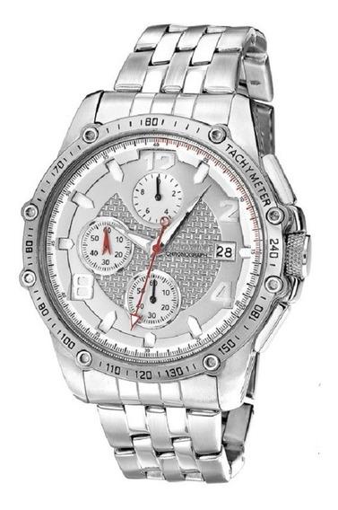 Relógio Magnum Masculino Todo Em Aço Ma32461q - Nf