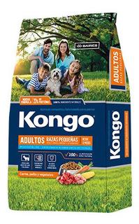 Kongo Natural Adultos Razas Peq X 3 Kg