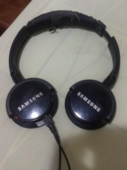 Fone Bluetooth Samsung Funcionando E Sem Espumas