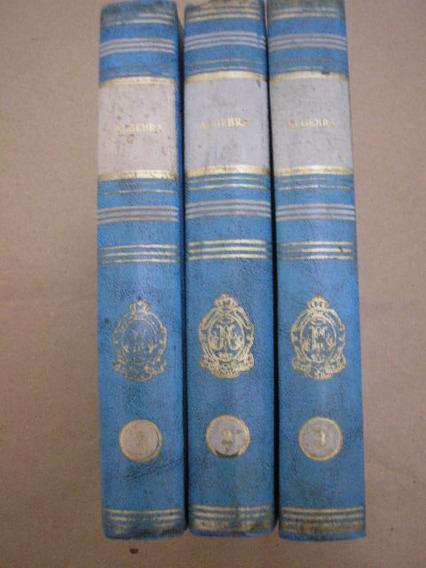 3 Livros Álgebra - Irmãos Maristas - Ed. F. T. D. (anos 70)