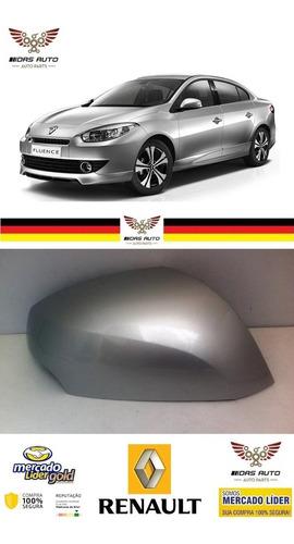 Imagem 1 de 6 de Capa Retrovisor Prata Etoile Ld Renault Fluence Original