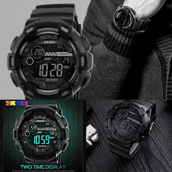 Relógio Digital Militar Esporte Skmei Digital 1243 Original
