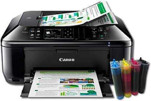 Impresora Canon Mx391 Con Sistema Continuo 50 Ml Premium