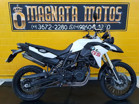 Bmw F 800 Gs - 2015 Impecavel Branca