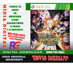 Naruto Storm Revolutionmidia Digital Xbox 360 Roraima Games
