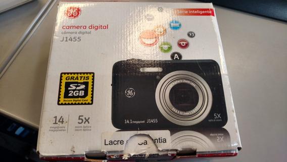 Câmera Digital Ge J-1455 Preta C/ 14.1mp, Lcd 3.0
