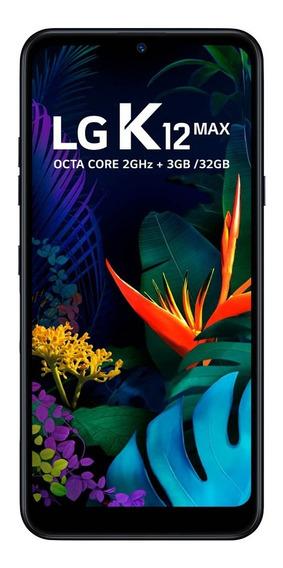 Lg K12 Max Preto 32gb 3gb De Ram Tela De 6.26 Octa Core