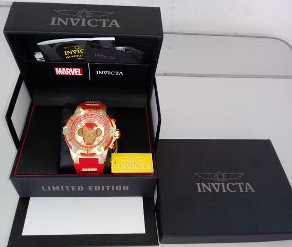 Invicta Marvel Masculino Modelo: 26906 Original