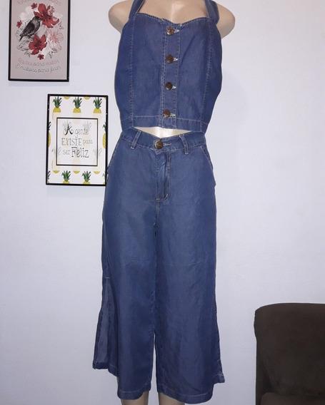 Calça Pantacourt E Crooped Jeans