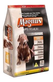Ração Magnus Super Premium 7 + Para Cães Sênior 15kg
