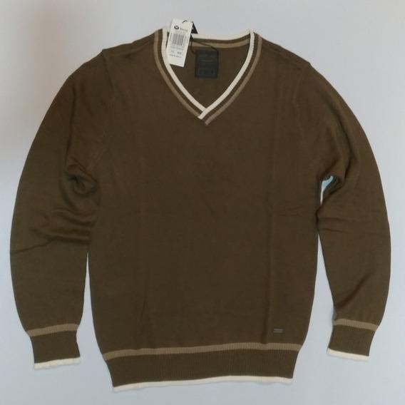 Blusa Suéter De Linha Hering Masculina Tam. M Em Algodão