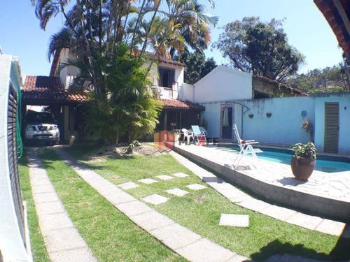 Casa Com 5 Dormitórios À Venda, 336 M² Por R$ 1.900.000,00 - Jacarepaguá - Rio De Janeiro/rj - Ca0105