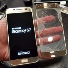 Cambio Gorilla Glass Vidrio Galaxy S7 Flat Y Note 5