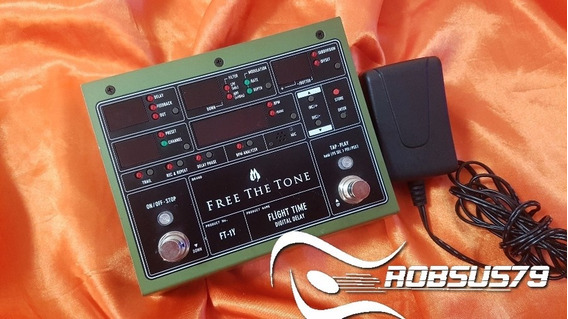 Pedal Free The Tone Ft-1y Flight Time Digital Delay