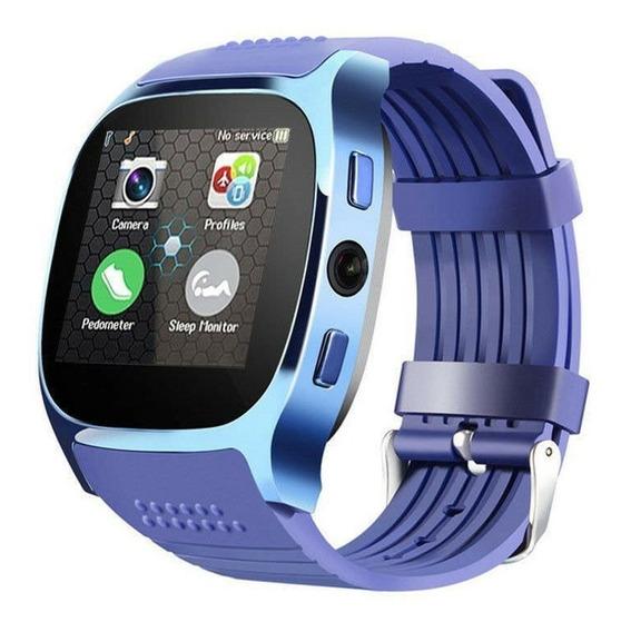 Relógio Inteligente Bluetooth Phone Pedômetro Android