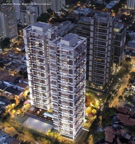Apartamento Para Venda Em São Paulo, Cidade Monções, 4 Dormitórios, 2 Suítes, 4 Banheiros, 3 Vagas - Cap3220_1-1439447