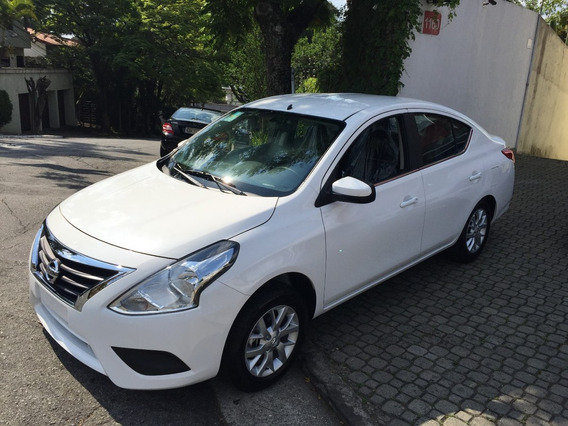 Nissan Versa 1.6 16v Sv Aut. Okm A Pronta Entrega