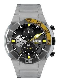 Relógio Troca Pulseira Orient Seatech Titanio Mbttc003