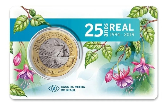 Blister Oficial 25 Anos Real