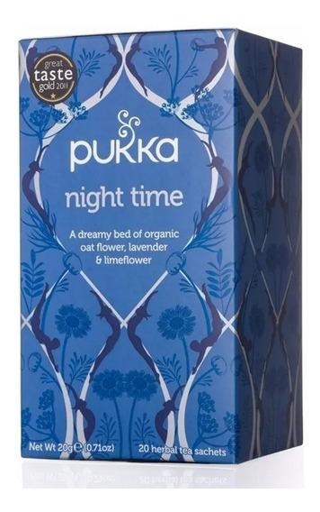 Té Orgánico Para Antes De Dormir Pukka Herbs Night Time