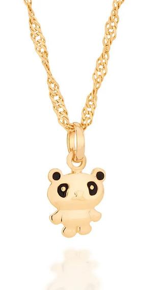 Cordão Rommanel Infantil + Ping Panda 542232 530590